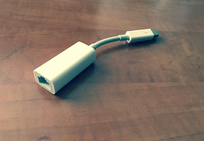 Apple Thunderbolt Ethernet Adaptér – svižnější připojení