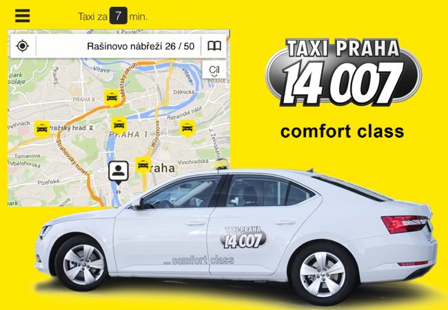 Superbem po Praze za pár korun – Taxi 14007