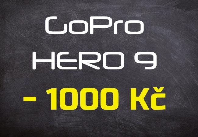 Sleva 1000 Kč nejen na GoPro kamery